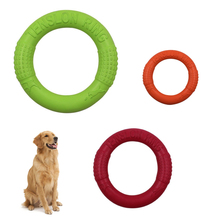 Dog Toys Pet Training Ring Puller Resistant Bite Floating Toy Pet Flying Discs Puppy Outdoor Interactive Products Pet Supplies