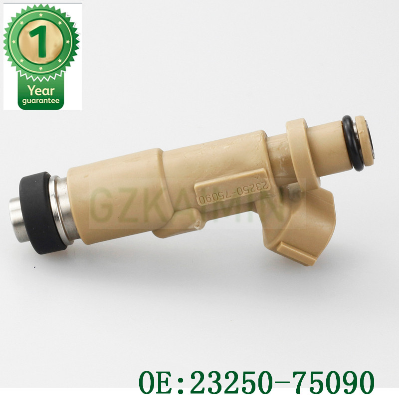 23250-75090 Fuel Injector Fit Toyota Coaster Hilux Land Cruiser 90 Prado 3RZFE