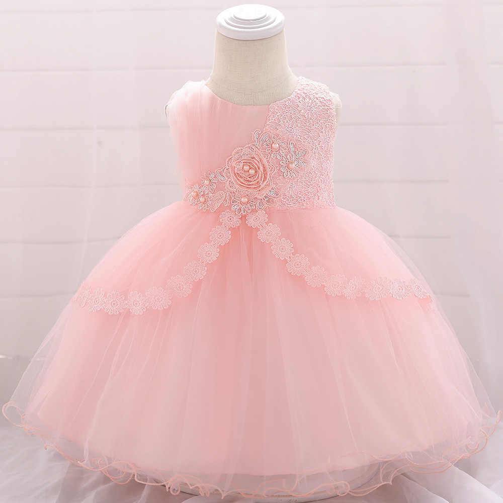 Baby Girl Evening Dress Wedding Dress Baby Princess Dress O Neck ...