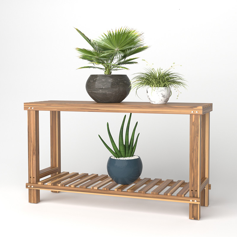 Flower Stool A Living Room Balcony Province Space Shelf Botany Frame Green Luo Orchid High Spacing Outdoor Anticorrosive Frame