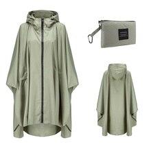 Poncho impermeable con capucha para hombre y mujer, Poncho impermeable para lluvia, para senderismo, escalada y turismo