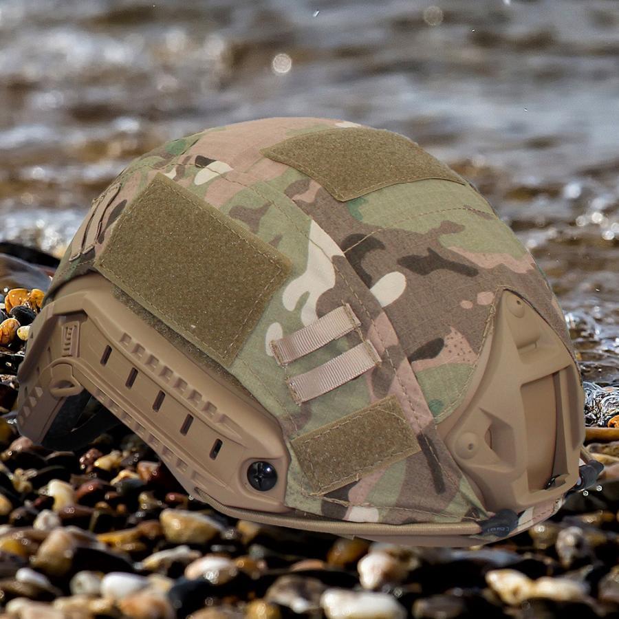 1 шт., 2 цвета, чехол для быстрого шлема для охоты, пейнтбола, боевого камуфляжа, чехол для быстрого шлема, аксессуары для охоты - Цвет: 1