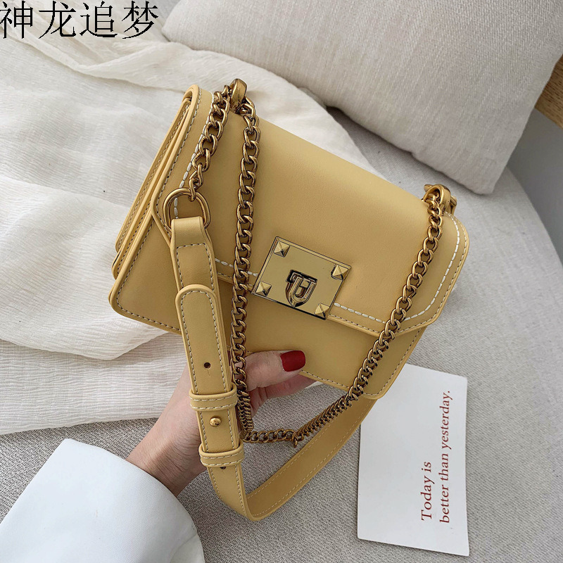 Female Crossbody Bag For Women 2020 High Quality PU Leather Luxury Handbags Designer Sac Main Ladies Lock Shoulder Messenger Bag