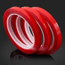 Pegatina ar de doble cara cinta adhesiva accesorios para AUDI A1 A3 A4 A5 A6 A7 A8 TT 80 Q3 Q5 Q7 A4L A6L S línea B5 B6 B7 C5 C6 C7