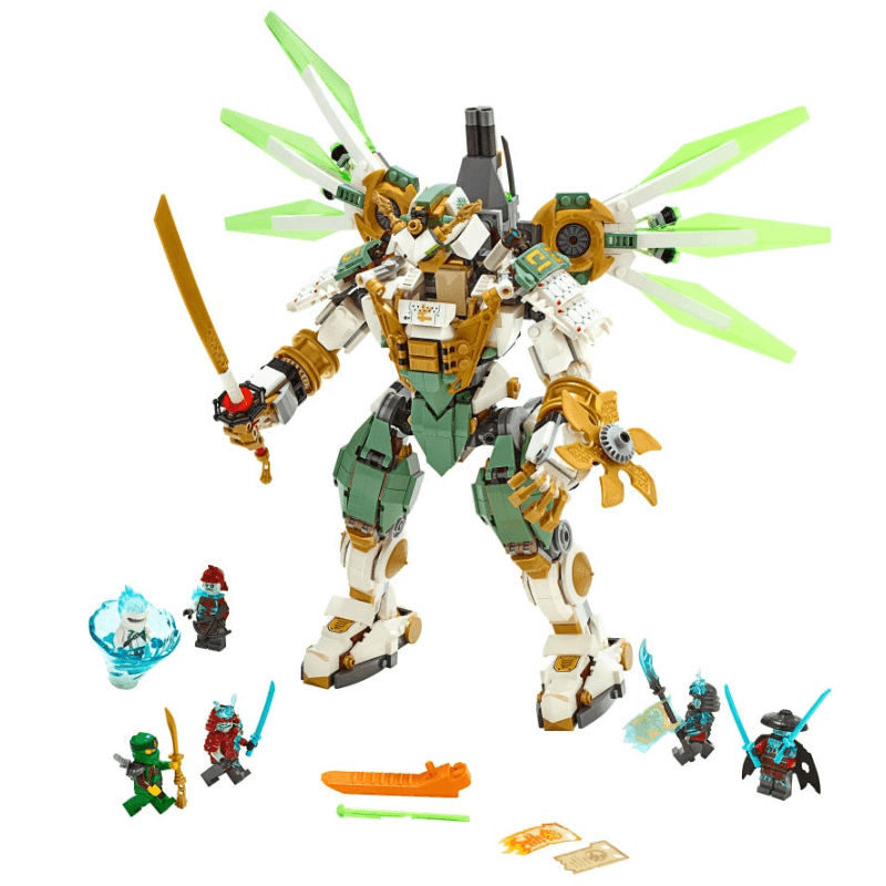 Lloyd's Titan Mech Building Block With Lloyd Action Figures Compatible <font><b>70676</b></font> NINJAGOINGlys Bricks Set Gifts Toys image