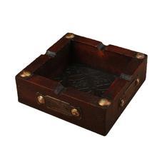 Cenicero de madera Vintage, Cenicero de moda, adornos para Cenicero, Cenicero, decoración de Mesa para el hogar, oficina (patrón B)