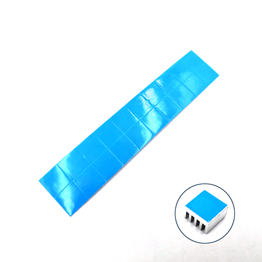 20Pcs/lot Aluminum Routing 8.8X8.8X5mm Heatsink Electronic Chip Cooling Radiator for A4988 Chip set Hot sale Free shipping 5