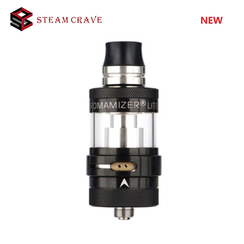 NEW Original Steam Crave Aromamizer Lite RTA V1.5 3.5ml E-cig Tank For DTL & MTL Vaping 23mm RTA Atomizer Vs Zeus X / Drop Dead