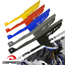 For Yamaha Yzf R1 R1m 2018-2015 Motorcycle Parts Trim Panel Protective Rear Tire Mud Chain Guard Cover Protector CNC Aluminum