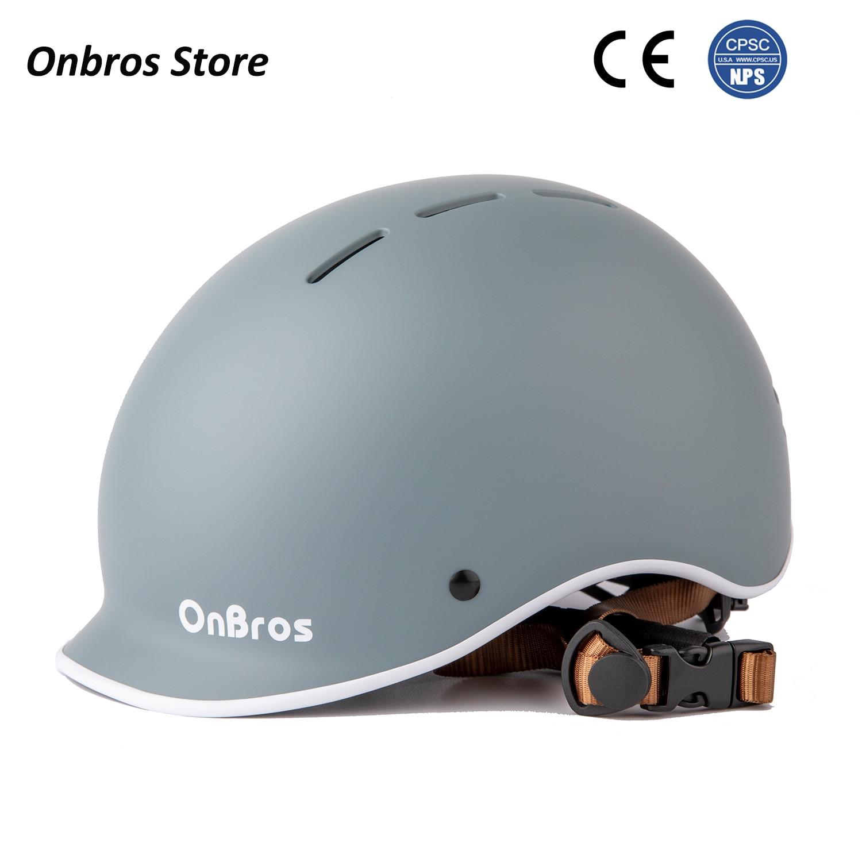 Шлем Onbros городской для катания на роликах, скейтборде, для мужчин и женщин