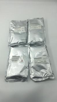 New Compatible DV610 Developer for Konica Minolta bizhub C6501 C6500 C6000 C7000 4pcs/set Developer Powder 1100g/Bag used original 90% dc700 developer unit for xerox dc550 560 700 770 5065 5580 6500 6550 6680 7500 7600 7780 4pc set no developer