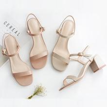 Sandália feminina salto alto 5cm, calçado feminino salto alto couro envernizado tiras de tornozelo preto, sandália feminina quadrada para casamento 2020