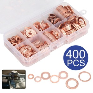400pcs/set Copper Washer Gaske