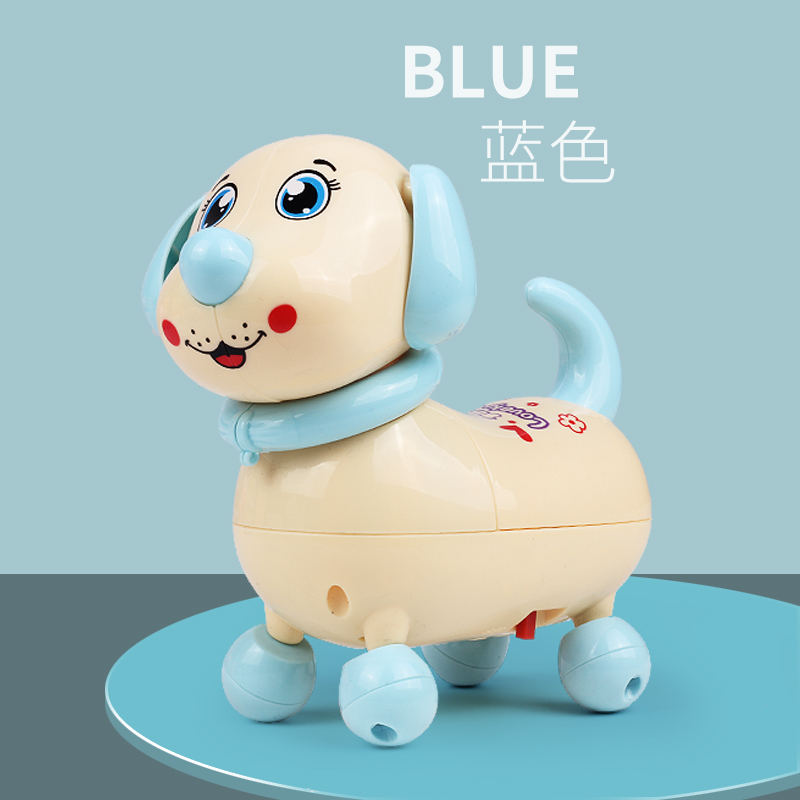 Fun Electronic Toy Music Singing Walking Traction Rope Electric Toy Dog Pet For Kids Children Baby Gifts Interactive Electronic