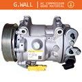SD7C16 Автомобильный Компрессор переменного тока для Peugeot 407 Citroen C5 6453XA 6453WZ 6453WY 6453VF 648779 9656572680 6453RG 9648238480 648702
