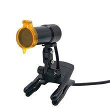 Медицинские расходные материалы высокого пятна Стоматологический светильник с оптический фильтр