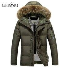 Men winter jacket new men cotton fur collar hooded Parkes fashion coat clothes plus size clothing male