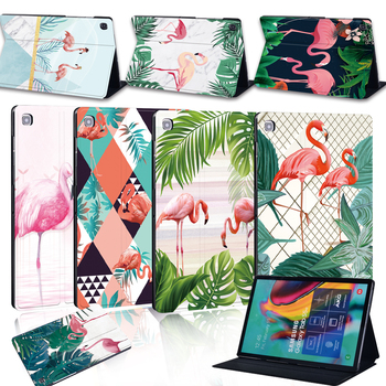 Tablet Case for Samsung Galaxy Tab A A6 7.0 9.7 10.1 10.5 / Tab E 9.6 / Tab S5e 10.5 Smart Cover Case Tablet Flip Stand автомобильный держатель onetto tablet mount easy smart tab 2