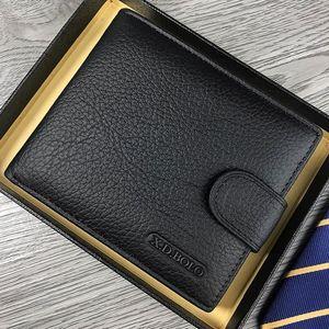 X.D.BOLO Wallet Men Leather Ge