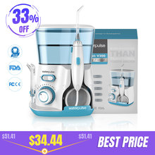 Waterpulse Oral-Irrigator Dental-Flosser Oral-Hygiene V300G 5pcs 800ml Tips