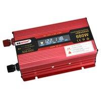 Universal 600W Car LCD Power Inverter DC12V to AC110V Modified Sine Wave Converter