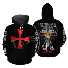 Tessffel Knights Templar Art Tracksuit 3D full Printed Hoodie/Sweatshirt/Jacket/shirts Men Women HIP HOP casual Harajuku style-2