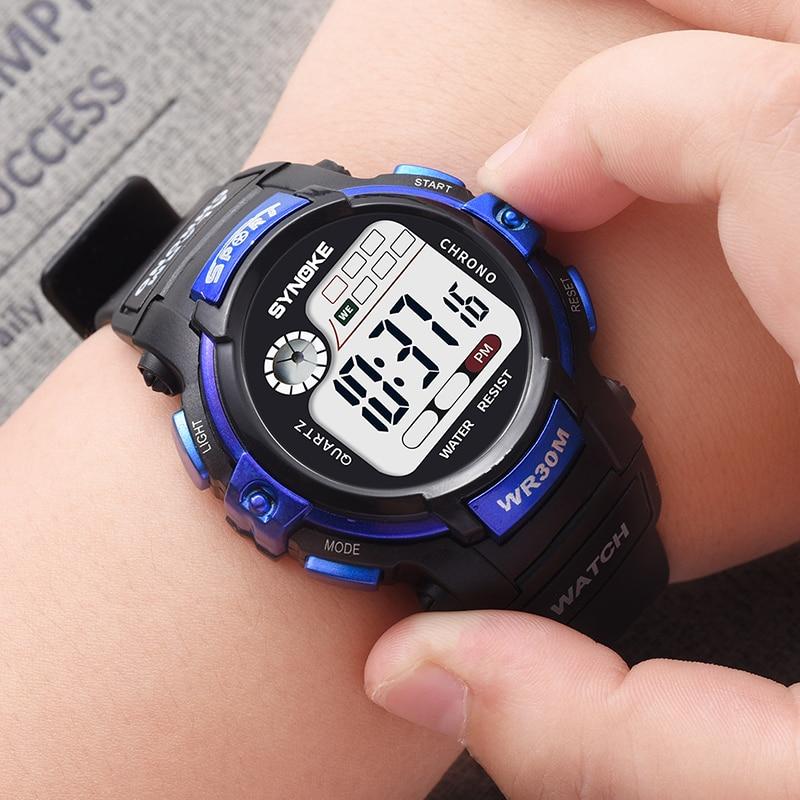 Sport Student Children Watch Boys Girls Watches Kids Clock Child LED Digital Wristwatch Electronic Wrist Watch For Girl Boy Gift