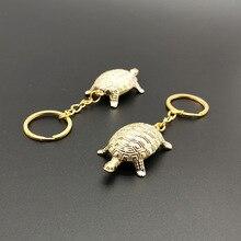 1 unidad, Feng Shui, tortuga dorada con dinero, Fortuna y riqueza, decoración para el hogar, oficina, adornos de mesa, regalo de la suerte