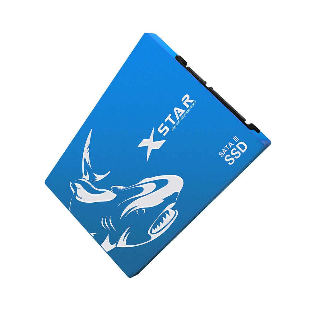 XSTAR 2.5 นิ้ว SATA SSD 500 GB 64 128 256 512 GB SSD 1 TB ภายใน Solid State HDD สำหรับแล็ปท็อปและเดสก์ท็อป