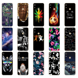 Image 4 - for Honor 8A Case For Huawei Honor 8A prime Case Silicon TPU Cute Back Case On Huawei Honor 8A JAT LX1 Cover mobile phone bag