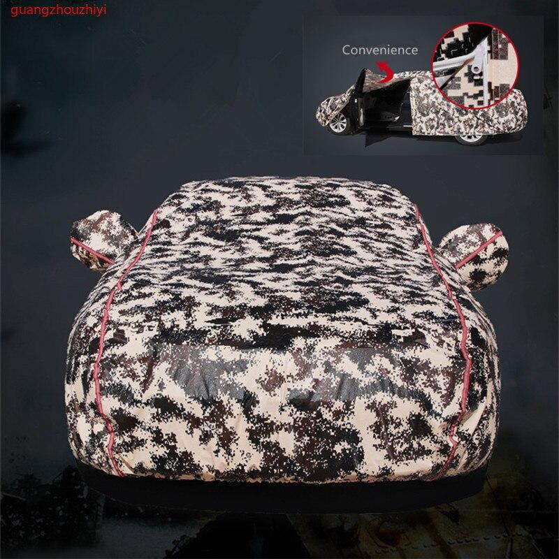 Winter auto cover waterdicht verdikking sneeuw universele auto glas cover outdoor anti regen zon schaduw geval voor auto