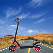 11 inch For Adults off road top speed 100km/h Maximum load 200KG scooter kick electric 71.4v 20AH battery