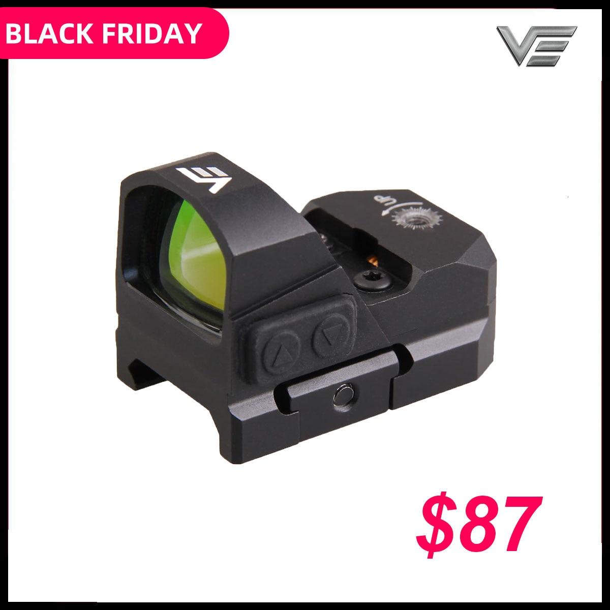 Vector Optics Frenzy 1x17x24 AR15 M4 AK47 Pistol Red Dot Scope 9mm Mini Sight With Water Proof Fit 21mm Picatinny GLOCK 17 19
