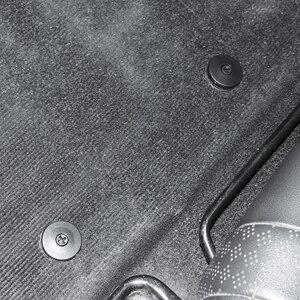 Авто застежка на пол коврик Пряжка противоскользящая накладка застежка для Dacia duster logan sandero stepway lodgy mcv 2 dokker