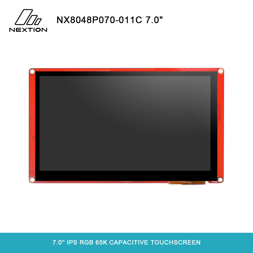 NEXTION 7.0'' Nextion Intelligent Series NX8048P070 011C HMI IPS RGB 65K Capacitive Touchscreen Display Module Without Enclosure-in LED Displays from Electronic Components & Supplies