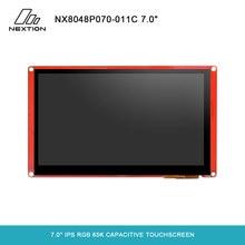 NEXTION Módulo de pantalla táctil capacitiva, serie inteligente Nextion de 7,0 pulgadas, NX8048P070 011C, HMI, IPS, RGB, 65K, sin carcasa