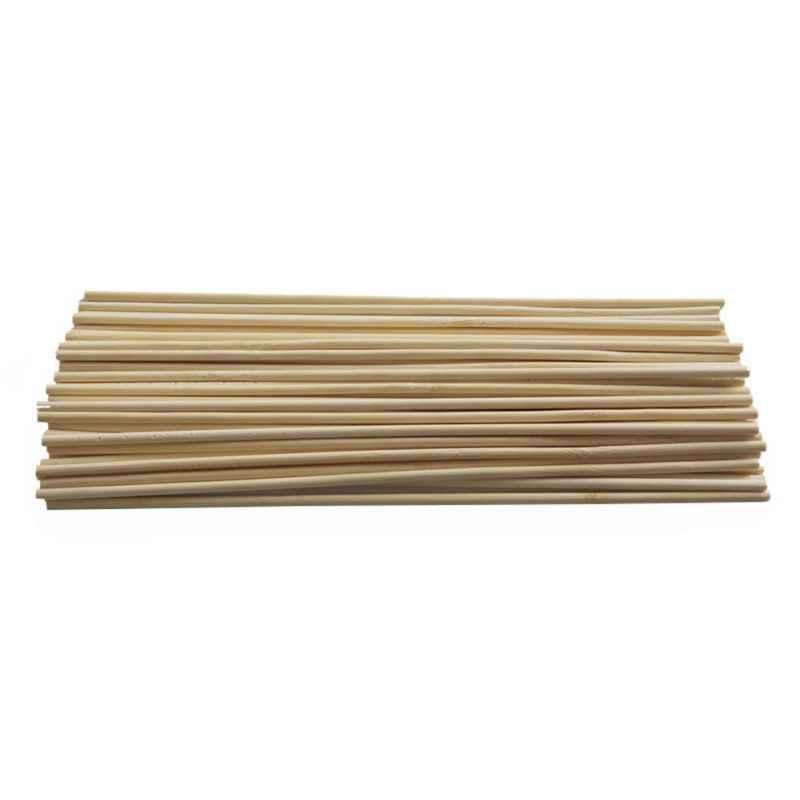 Soporte para plantas de madera de 50 Uds., palo de soporte para plantas de bambú, bastones para jardín, plantas de jardín, bastón de soporte para flores