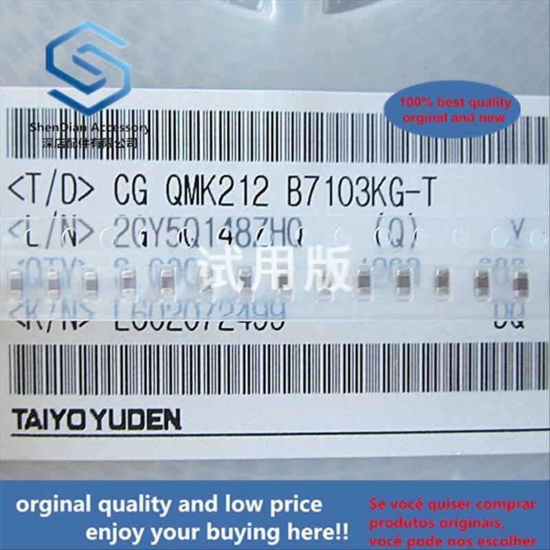 50pcs 100% Orginal New Best Quality QMK212B7103KG-T Ceramic Capacitor 0.01uF 250V X7R + -10% 0805