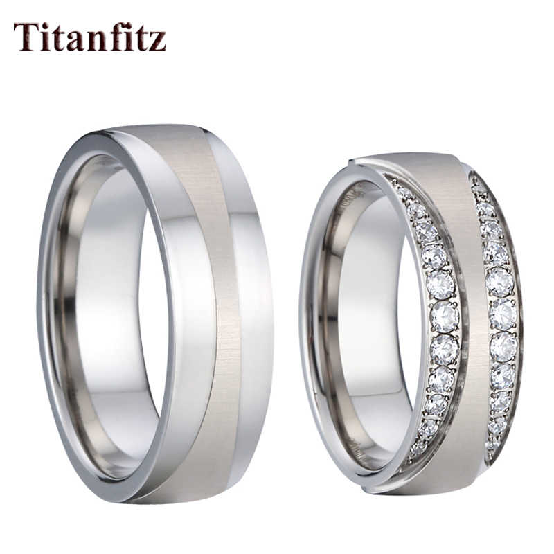 Love Alliances Marriage Proposal Wedding Rings For Couples Men And