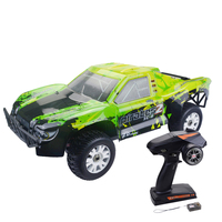 ZD Racing 9203 1/8 4WD 90KM/H RC Brushless Electric Vehicle Short Course Truck For Children Gift RTR Version Green Black Blue