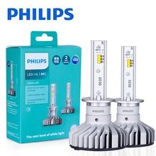Philips H1 LED X treme Ultinon Auto Kopf Licht Auto Lampen 6000K Weiß Mehr Leistungsstarke Helle Auto DIY ersetzen Auto Scheinwerfer Stilvolle