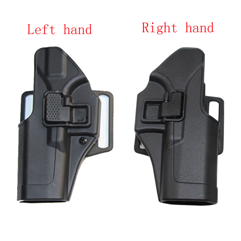 Tactical Right Left Handed Glock Holster For Glock 17 19 22 23 31 32 Paddle Pistol Belt Gun Holster Airsoft Hunting Accessories