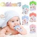 Рождественские детские силиконовые рукавицы грызунки из мультфильма образные перчатки Мягкий прорезыватель для зубов детские, для малыше...