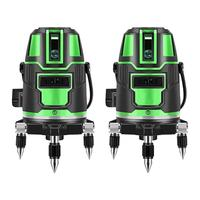 Green LaserLevel 360 Degree Cross Line Rotary Level Measuring Instruments 5 lines 6 points for Construction Tools