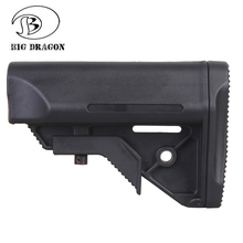 BIG DRAGON AM Style Battery Stock for Tactical Airsoft Rifle AEG M4 M4A1Hunting Jinming Toy Gun CS Game Gel Ball Accessory