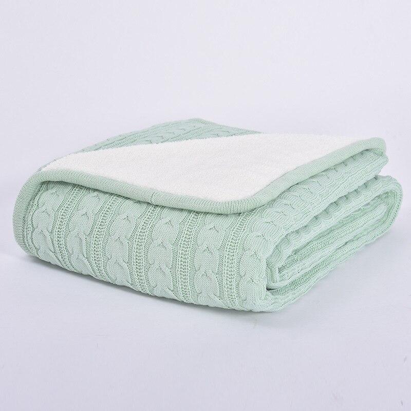 Весенне осеннее одеяло, кондиционер, одеяло, одеяла для кровати, меховое одеяло, вязаное одеяло, зимнее одеяло - 5