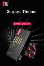 0.01 & 0.02mm super fino preservativo 001 & 002 invisível ultra fino lubrificado preservativos para homem bem-estar sexual poliuretano não-látex