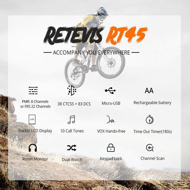 retevis-rt45-多功能