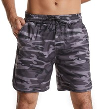 New Shorts Men's Cool Summer Hot Sale Breathable Casual Workout Men Short Pants Brand Clothing Comfortable Camo Beach Male Short