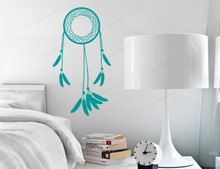Dream Wall Decal Catcher Simple catcher Wall sticker vinyl removable wall home decor JH80 arrow wall decal dreamcatcher vinyl wall sticker bohemian design bedroom decor dream catcher feathers symbol wall mural ay1451